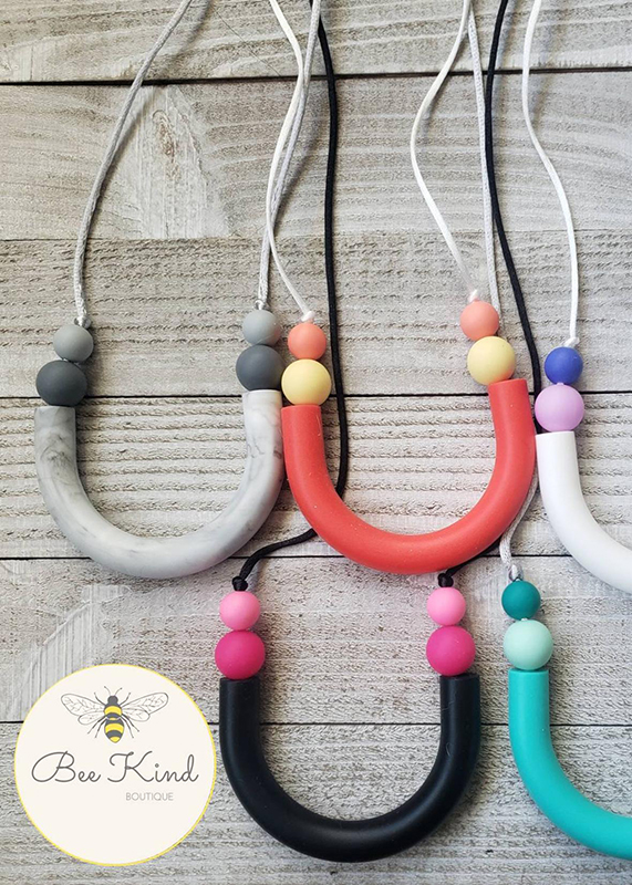 Silicone U Statement Nursing Necklace