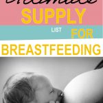 Supply-List-Breastfeeding