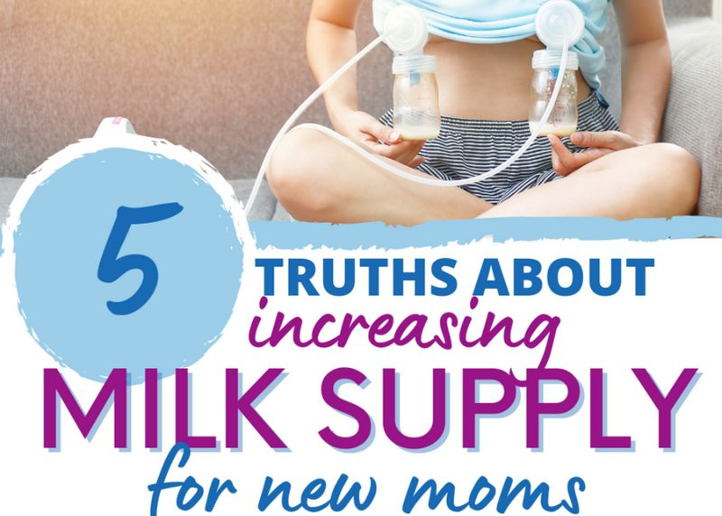 increase milk supply for new moms