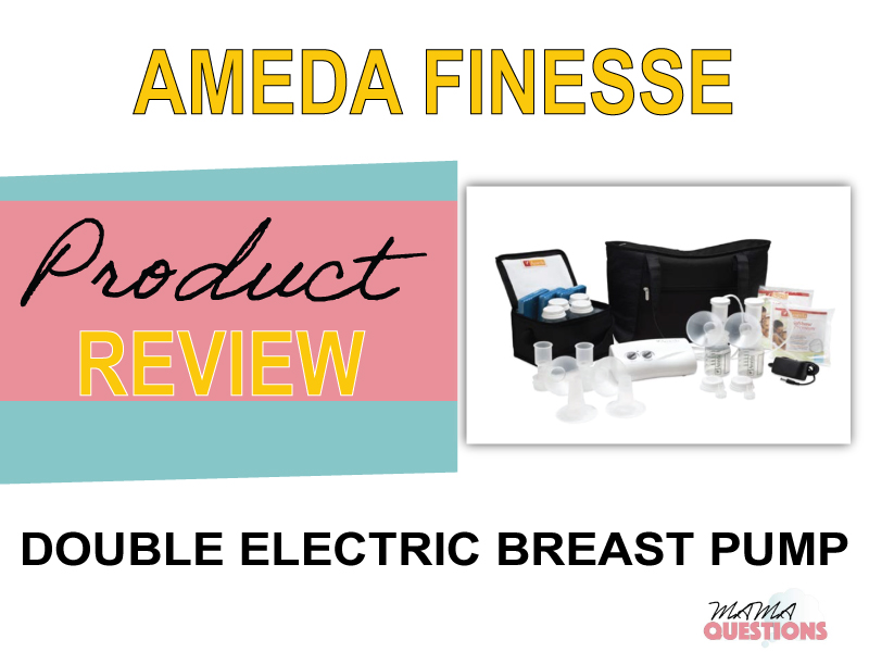 Ameda Finesse Double Electric Breast Pump – Comfort on the Go