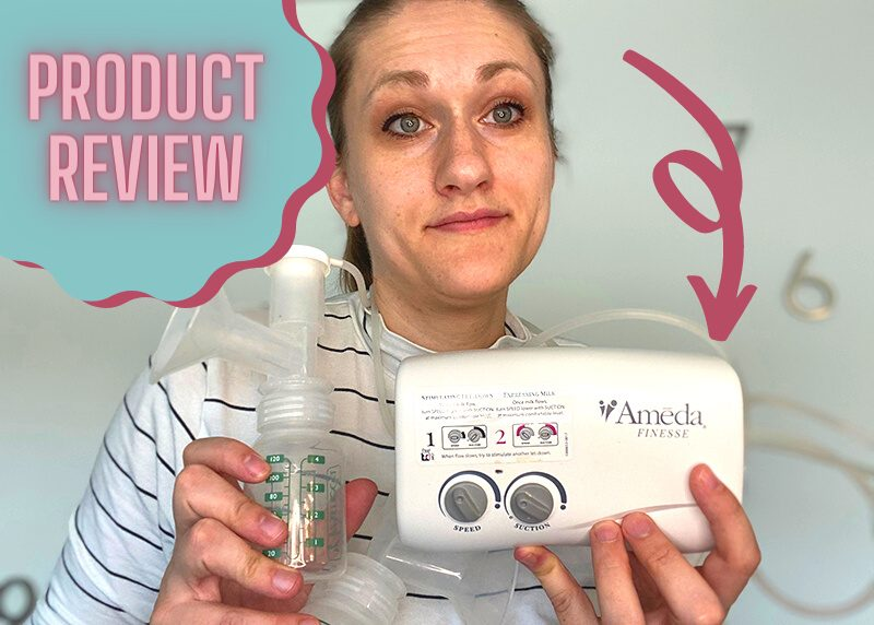 ameda finesse product review