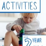 LEARNING ACTIVITIES FOR 2 YEAR OLD'S
