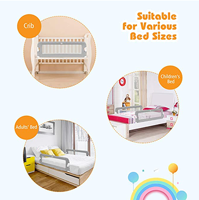 bed rail for bed sharing